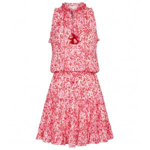 Poupette St Barth Women Printed dresses hot topic - Exclusive to – Clara floral minidress Light Pink Daffodil X3I5R8133